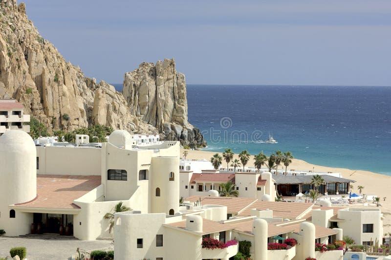 Recurso mexicano em Cabo San Lucas, México fotos de stock royalty free