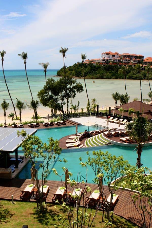 Recurso tropical fotografia de stock royalty free