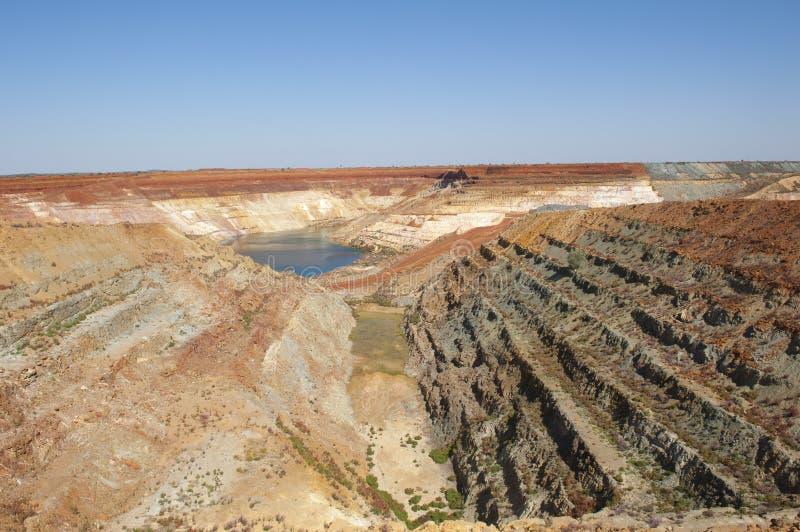 Recursos da mineração imagens de stock royalty free