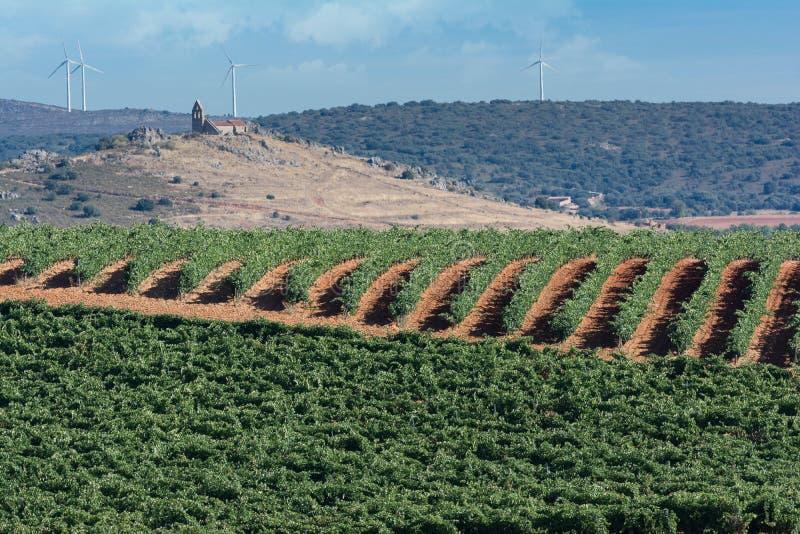 Recursos econômicos em uma área rural no norte da província de Zamora na Espanha, como exemplo da luta contra o depopulatio imagens de stock royalty free