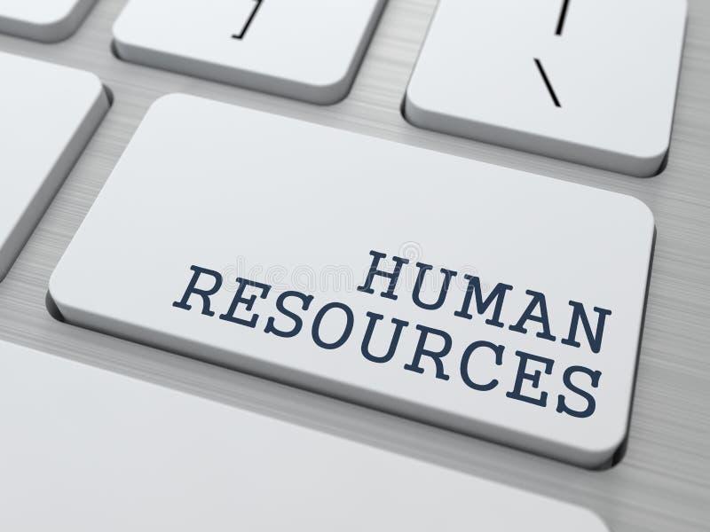 Recursos humanos. Concepto del negocio. stock de ilustración