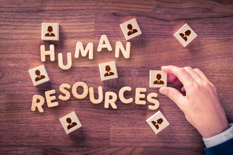 Recursos humanos hora fotos de archivo libres de regalías