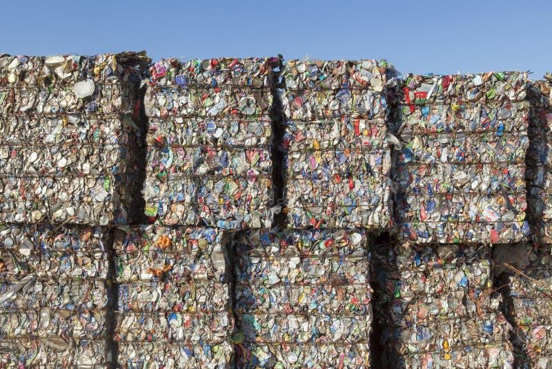 Recyclable odpady obrazy royalty free