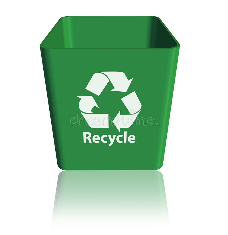 Recycle stock illustration