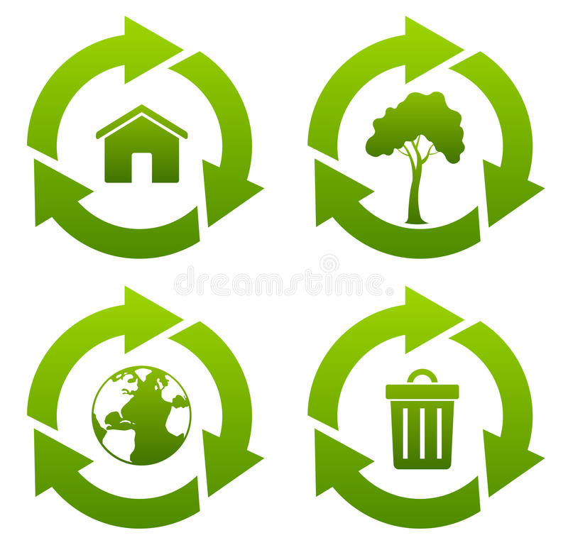 Download Recycle stock illustration. Image of domestic, resources - 16050275