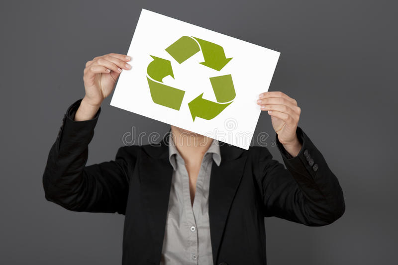 Download Recycle stock image. Image of adult, person, conservation - 18548055