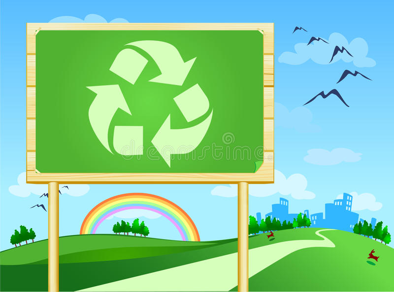 Download Recycle stock illustration. Image of ecological, notice - 19550250