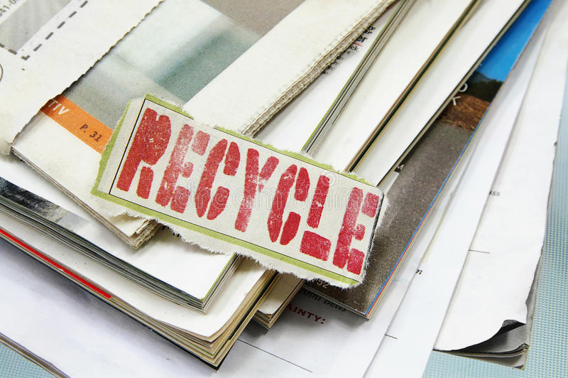 Download Recycle it stock image. Image of scrap, recycle, paper - 20750845