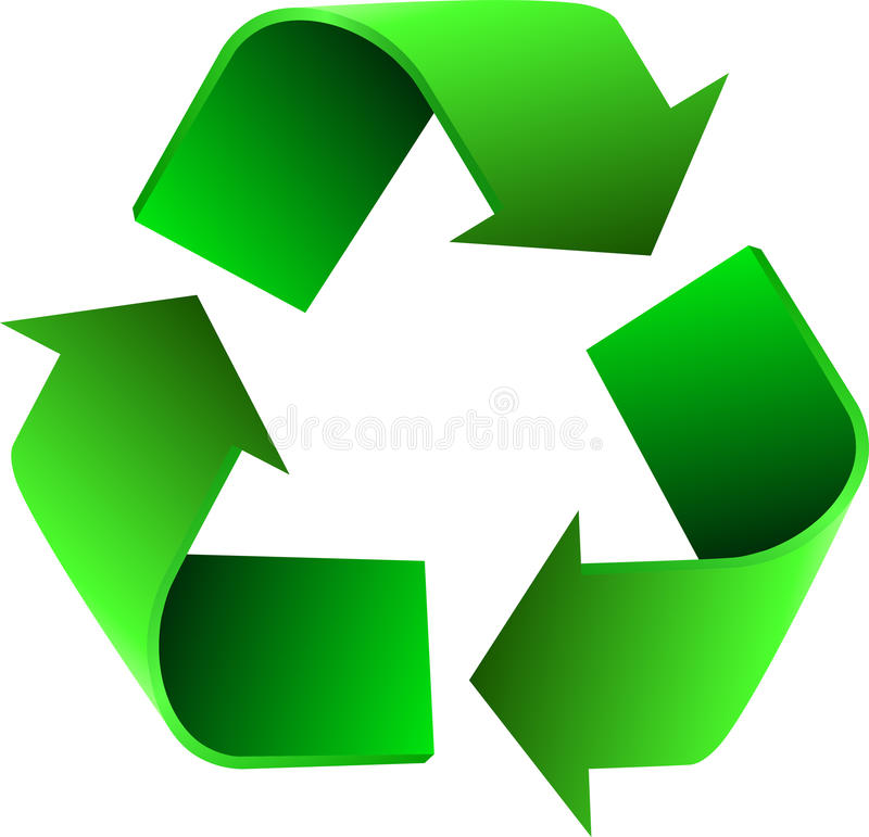 Download Recycle stock vector. Illustration of icon, cycle, environment - 21233707