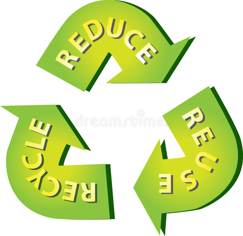 Download Recycle stock vector. Image of splash, dirty, print, friendly - 8340262