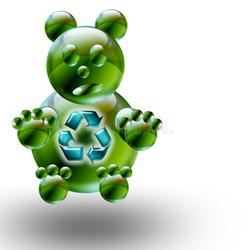 Free Recycle Bear Stock Images - 9441324