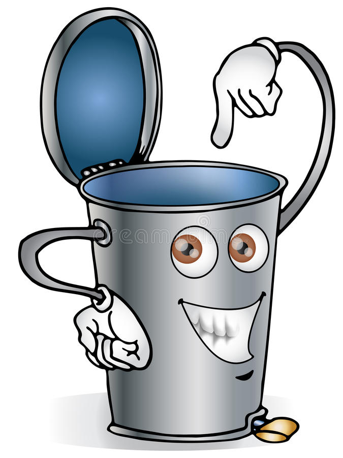 Download Recycle Bin Royalty Free Stock Photography - Image: 12797457