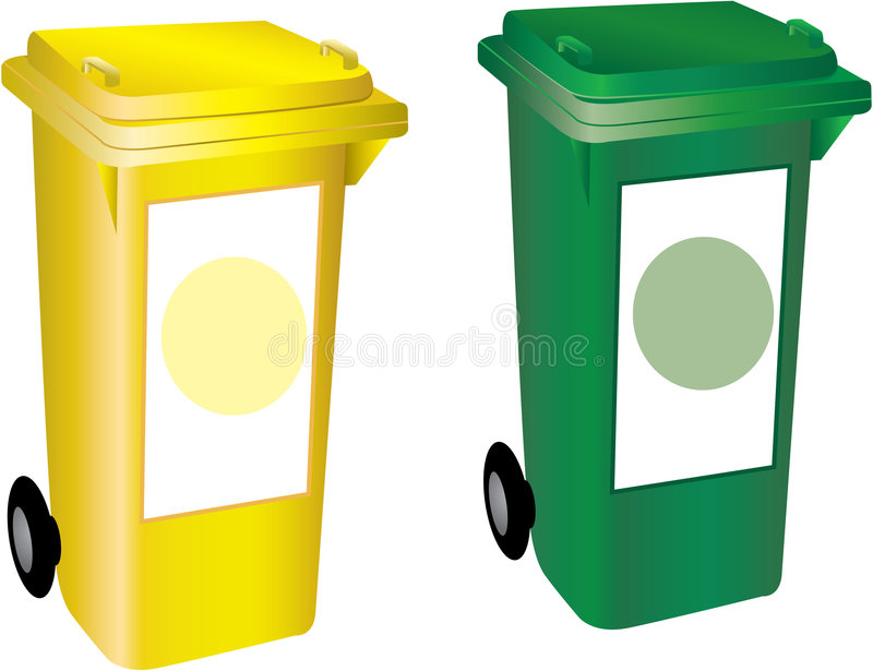 Recycle bins vector illustration