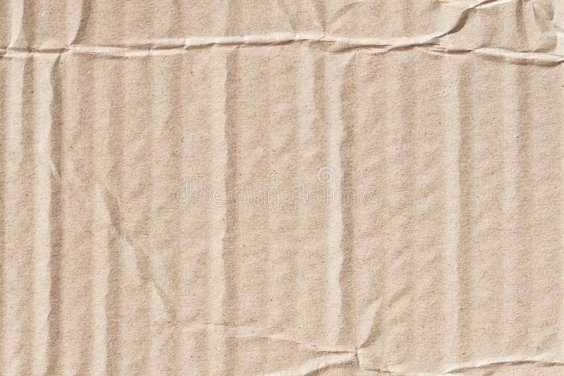 Recycle brown paper crumpled texture,Old paper surface for background stock images