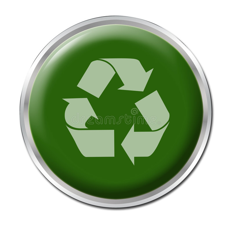 Free Recycle Button Stock Photo - 5561880