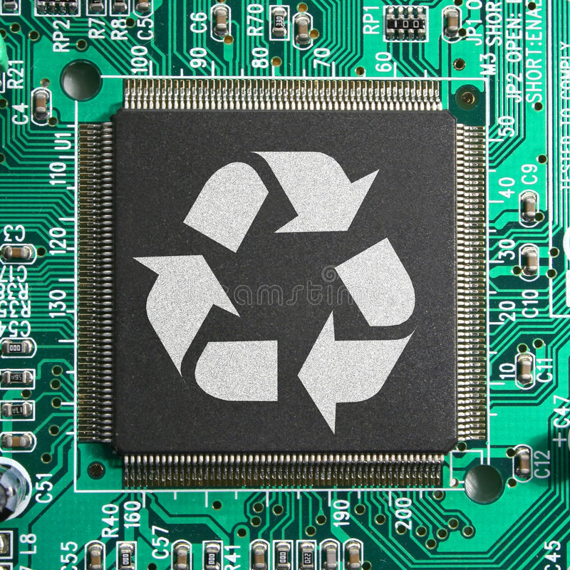Free Recycle E-junk Eco-friendly Technology Concept Royalty Free Stock Image - 7064576