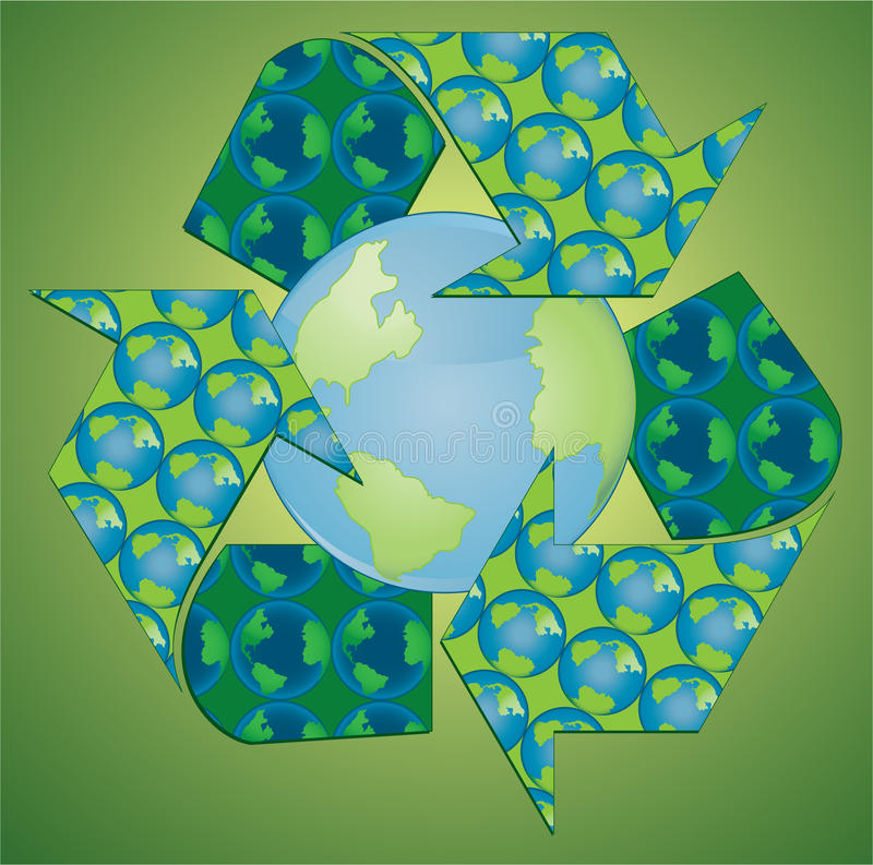Download Recycle Earth Royalty Free Stock Images - Image: 12269819