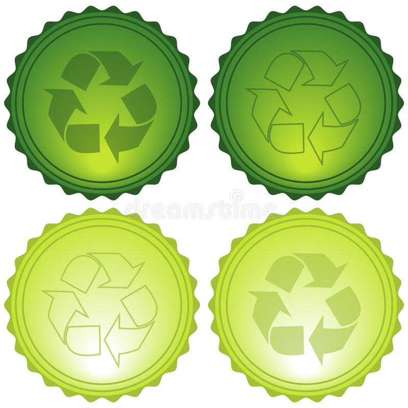 Recycle Icons stock photo