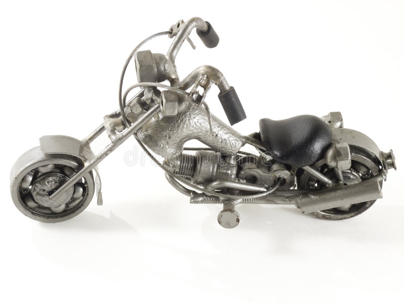 Download Recycle motocycle stock photo. Image of small, iron, motorbike - 3440848