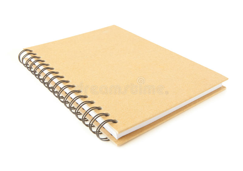 Recycle notebook royalty free stock images