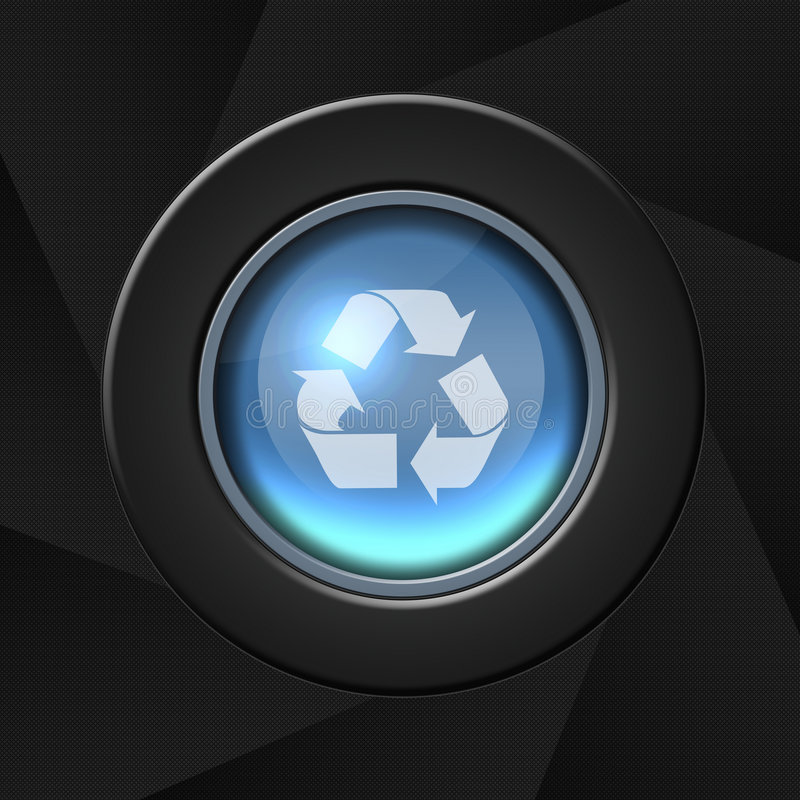 Free Recycle Or Refresh Icon Royalty Free Stock Photo - 4312725