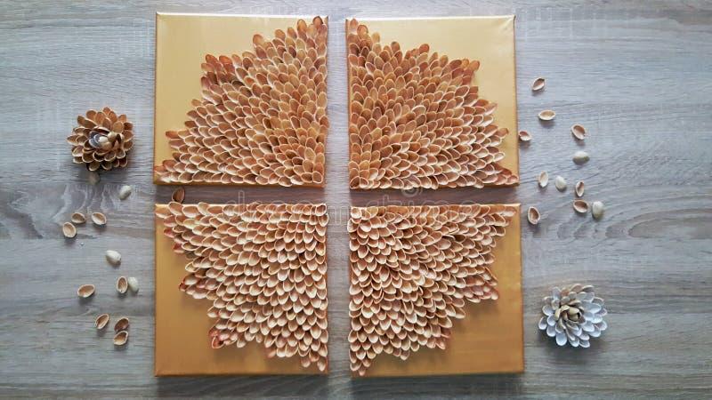 Pistachio flower stock images
