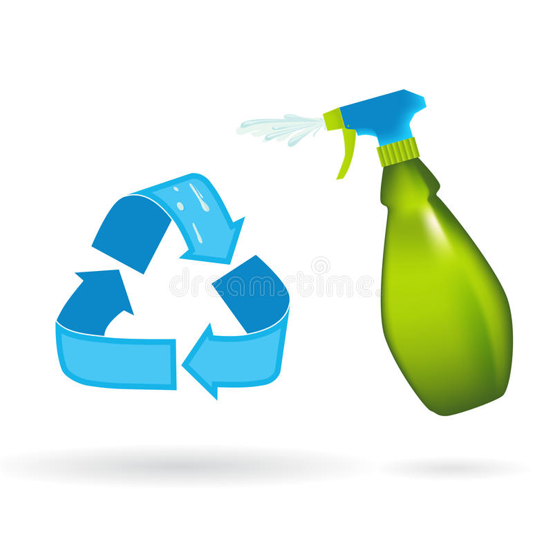 Download Recycle & Reuse stock illustration. Illustration of friendly - 12398334