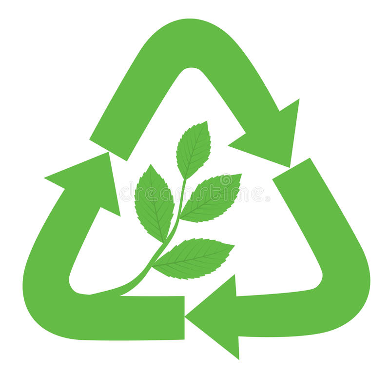 Recycle sign vector illustration