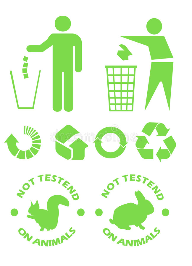Free Recycle Signs Royalty Free Stock Photography - 6376337