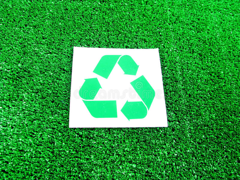 Download Recycle Symbol stock photo. Image of grassy, ecofriendly - 11361518