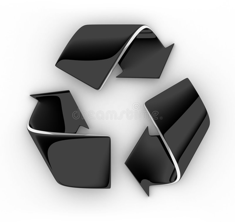 Download Recycle symbol stock illustration. Image of environment - 2237456