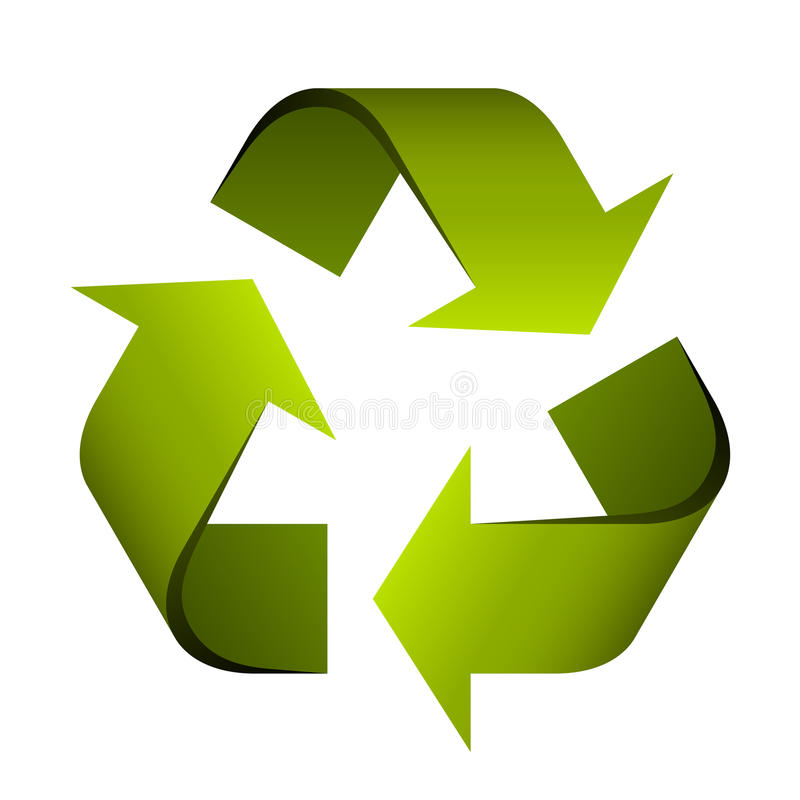 Recycle symbol. Illustration for the web vector illustration