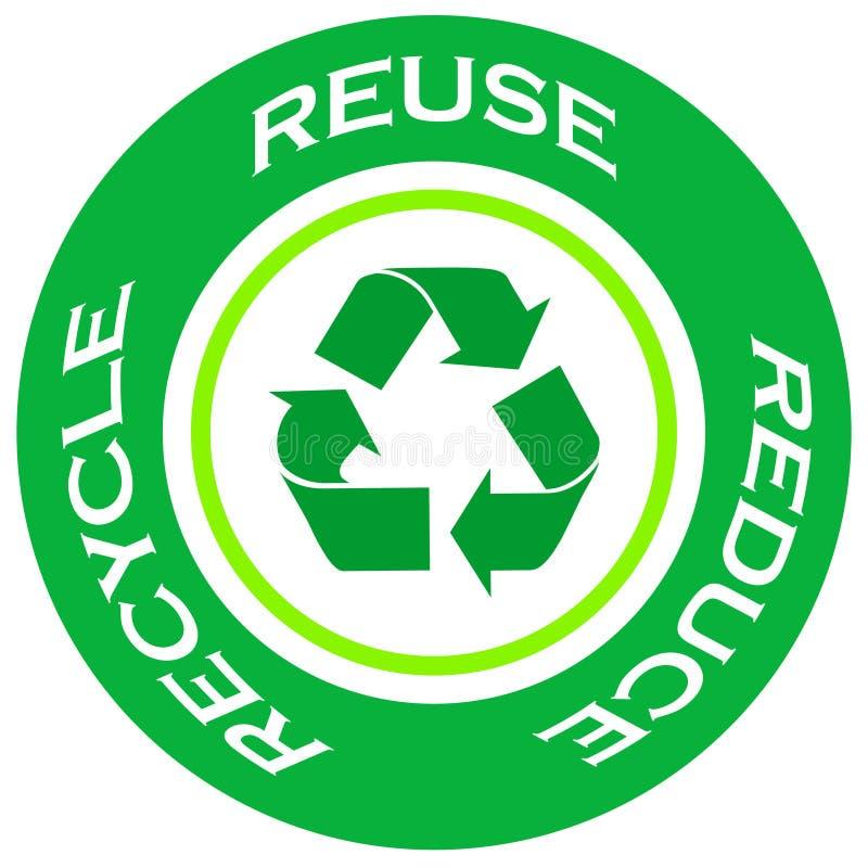 Download Recycle symbol stock illustration. Illustration of design - 6283939