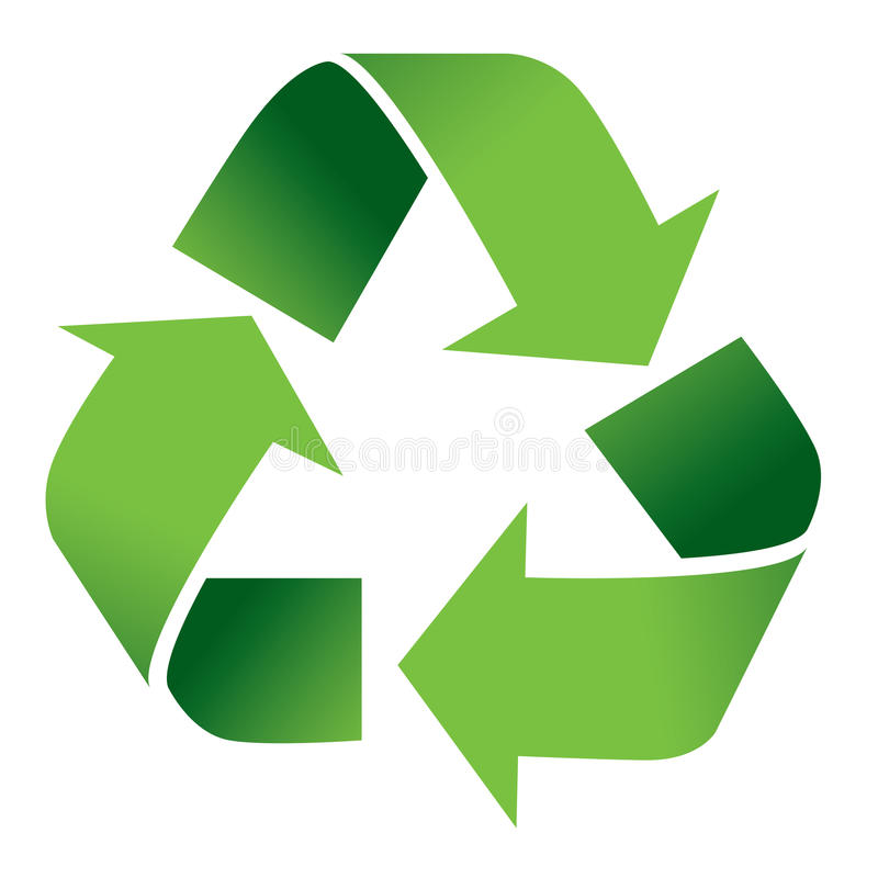 recycle symbol isolated on white stock vector illustration of rh dreamstime com plastic recycling symbol vector recycle symbol vector eps