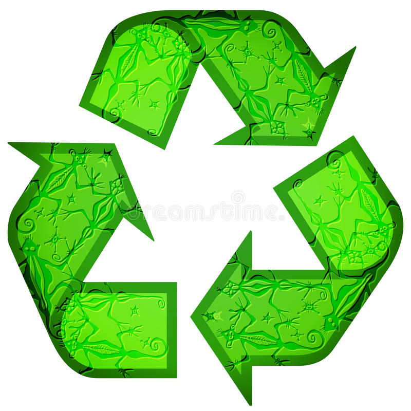 Download Recycle Symbol Made Of Animals Royalty Free Stock Images - Image: 25848659