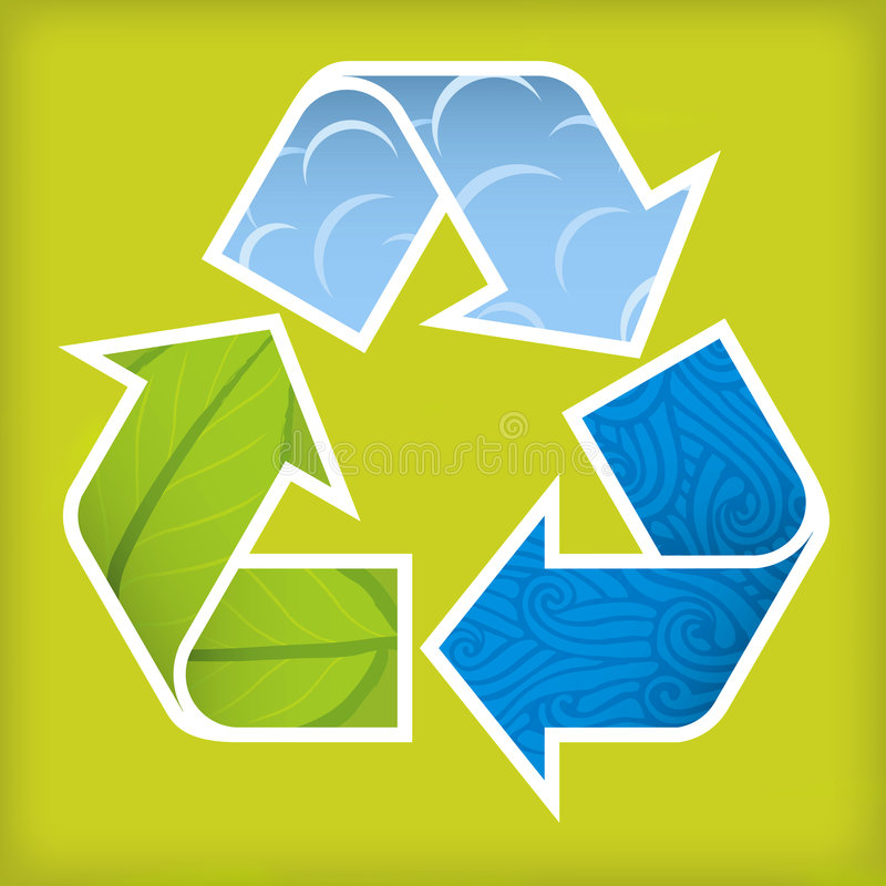 Free Recycle Textured Stock Image - 3514261