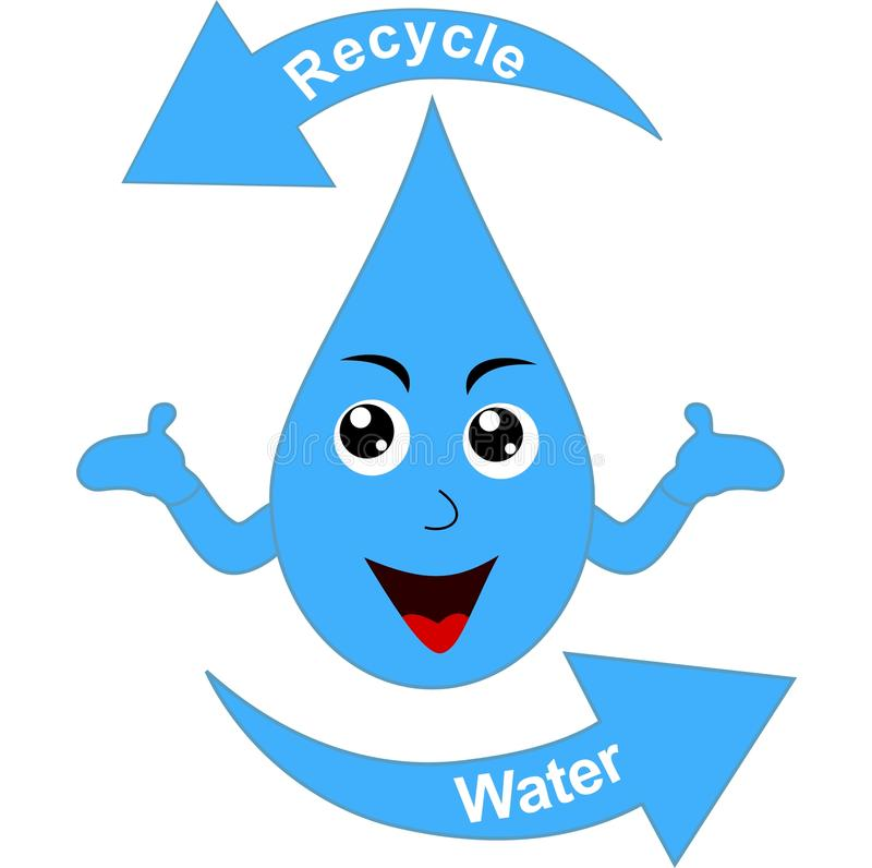 Recycle water vector illustration