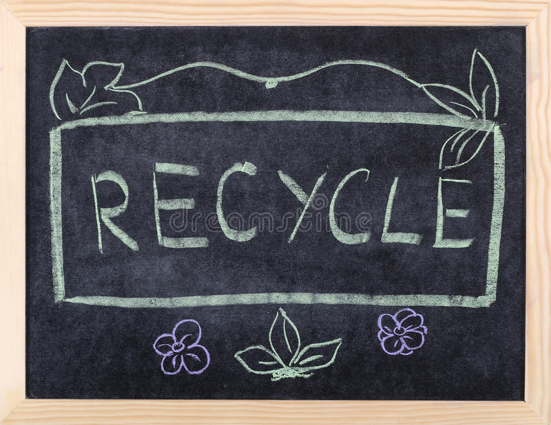 Download Recycle word stock illustration. Image of pollution, earth - 17124480