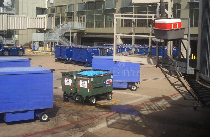 Recycle Y'all at Austin, Texas airport royalty free stock photo