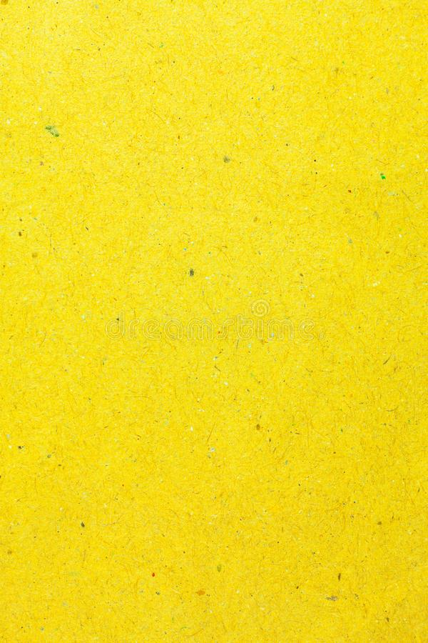 Recycle yellow paper background stock photo