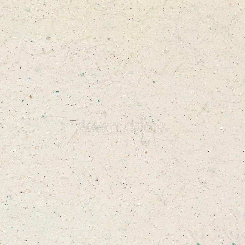 Recycled弄皱了设计的浅褐色的纸纹理背景 库存照片