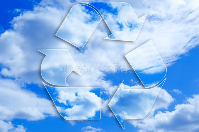 Recycled stock photography