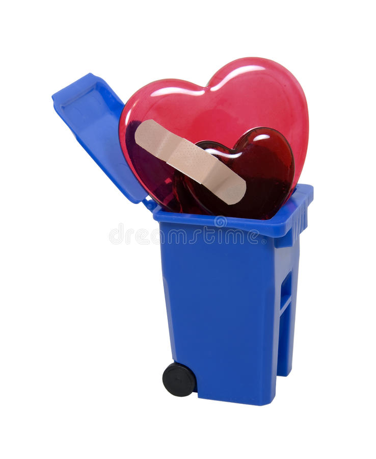 Download Recycled broken hearts stock image. Image of protection - 9997059