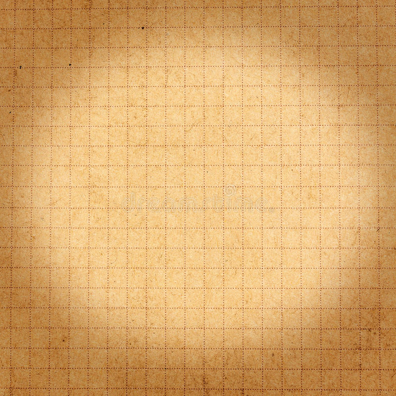 Recycled brown paper texture or background with cell and bokeh. royalty free stock photos