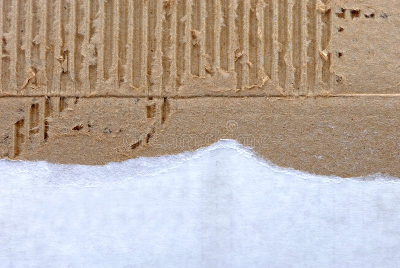 Recycled cardboard paper for background royalty free stock photography