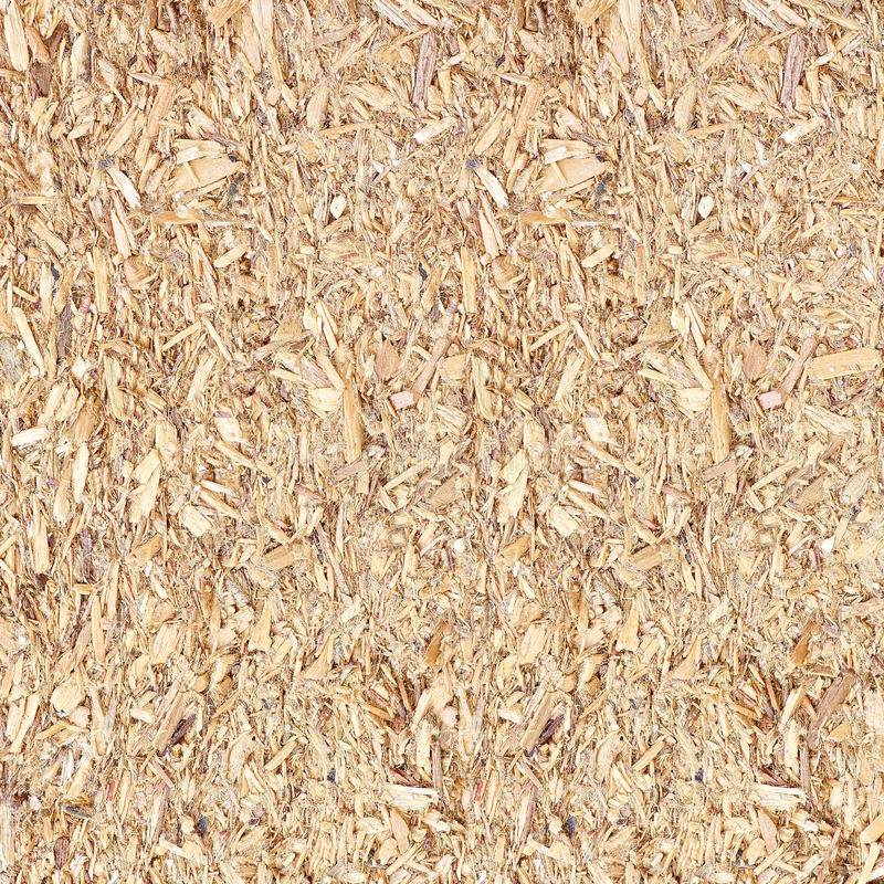 Recycled compressed wood chippings board stock photos