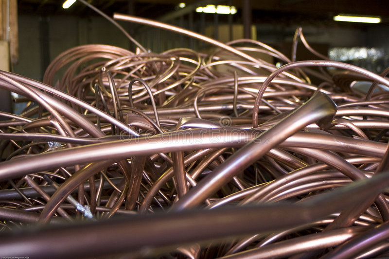 Recycled Copper Tubing