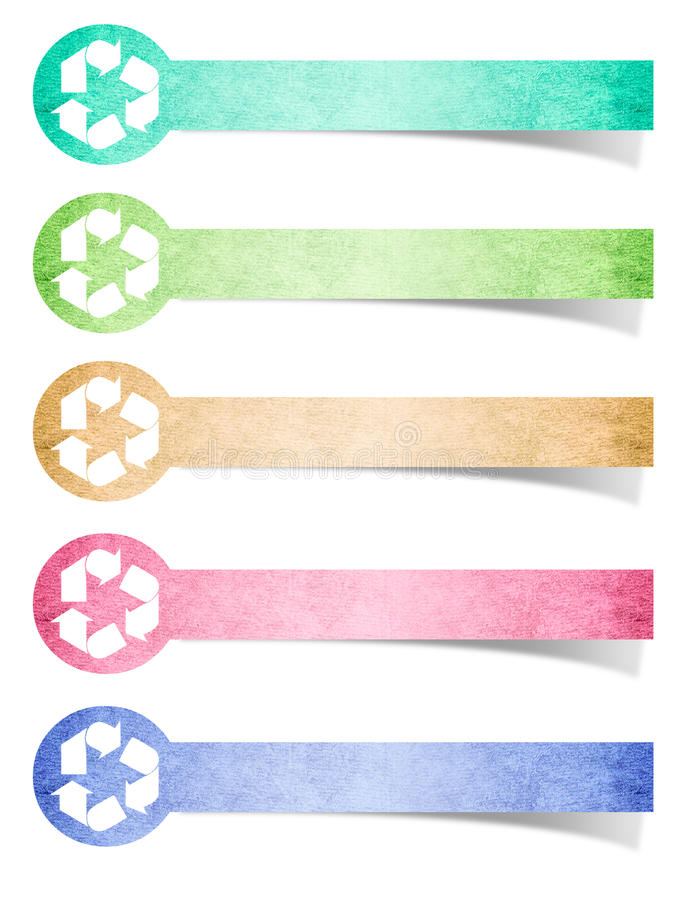 Free Recycled Logo Paper Royalty Free Stock Photography - 21773697