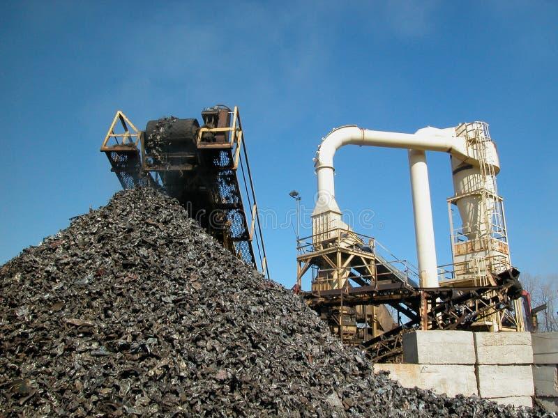 Recycled metal stock photos