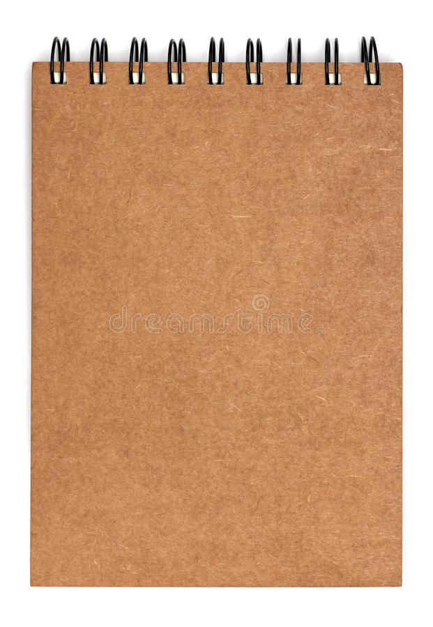 Download Recycled Paper Notebook Front Cover Stock Photo - Image: 33558360